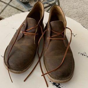 Clark's dessert boots, boys 3